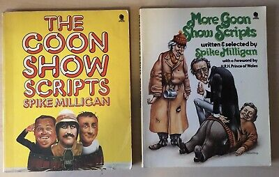 The Goon Show Scripts And More Goon Show Scripts By Spike Milligan Sphere Books • 5£