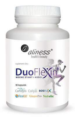 Duoflexin Strong Bones And Joints, Collagen Complex, 90 Vegan Capsules, Aliness • 15.99£