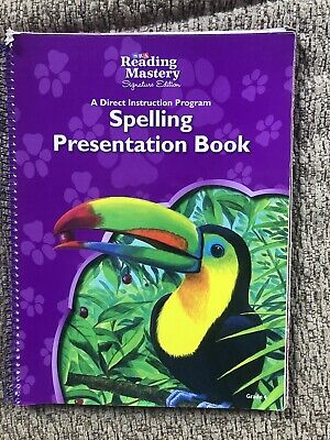 AU89.26 • Buy PSA Reading Mastery - Spelling Presentation Book - Grade 4 - Signature Edition