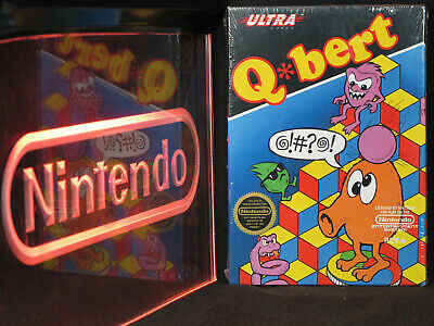 $ CDN634.29 • Buy Nintendo NES Q*bert Brand New In Box NIB Factory Sealed Excellent RARE Qbert