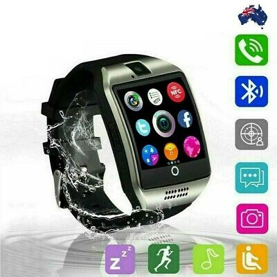 AU34.89 • Buy Q18 Smart Watch For Android Phones Samsung Sleep Monitor GPS For Men And Women