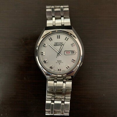 $ CDN188.08 • Buy Vintage Seiko 5 Actus SS Cal. 6106 Automatic 23Jewels Mens Watch