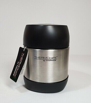 AU12.70 • Buy NEW THERMOS THERMOCAFE VACUUM INSULATED STAINLESS STEEL HOT / COLD FOOD JAR 12oz