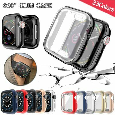 AU5.39 • Buy For Apple Watch IWatch Series Se 6 5 4 3 2 Clear Case Full Cover 38 40 42 44mm