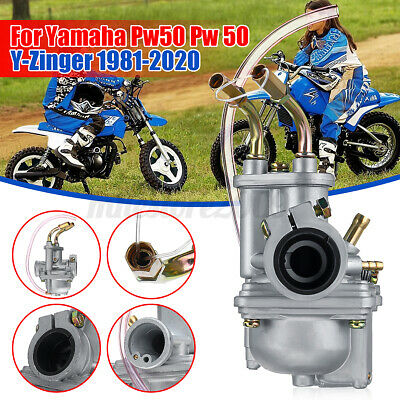 $ CDN30.86 • Buy Performance Carburetor Carb For Yamaha PW50 Pw 50 Y-Zinger 1981-2020 Motorcycle