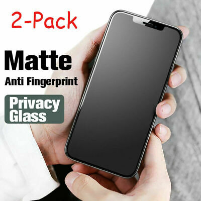 AU5.99 • Buy 2Pcs For IPhone 8/11/12 Pro Max Matte Screen Protector Anti Glare Tempered Glass