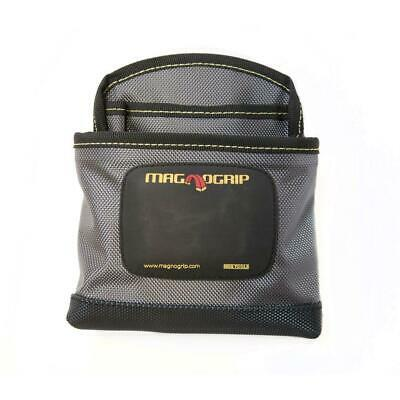 $10.99 • Buy MAGNOGRIP Pro Magnetic Clip On Nail Pouch Adjustable Tool Holder Storage Gray