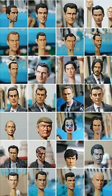 $ CDN22.60 • Buy 1x CUSTOM Painted Head Cast 1:18 SCALE GI JOE SIZE 3.75 Mix And Match