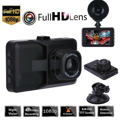 AU25.99 • Buy Car Dash Camera 3in Touch Video DVR Recorder Front And Rear Dual Camera Dash Cam
