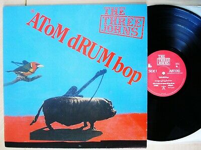 £7.99 • Buy The Three Johns Atom Drum Bop A1 B1 UK LP Abstract Sounds ABT 010 1984 EX/NM