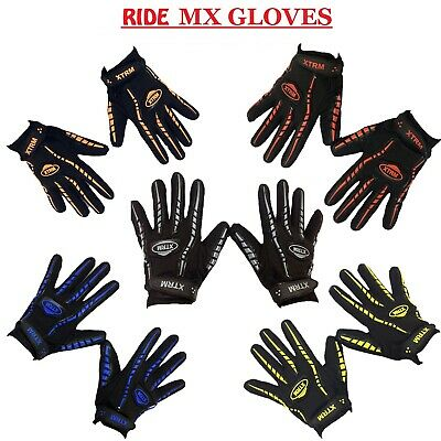 £8.99 • Buy MOTORCYCLE GLOVE MX RIDE Quad Off-Road Motocross Scooter Racing Sports Gloves