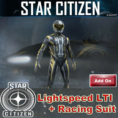 AU394.49 • Buy Star Citizen - Lightspeed 350R LTI - Game Pack With Origin Racing Suit - RARE!