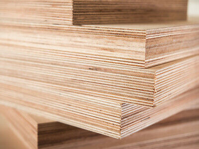 £22 • Buy Plywood Sheets Hardwood Faced Ply Boards 3.6mm 5.5mm  9mm 12mm 15mm 18mm 25mm