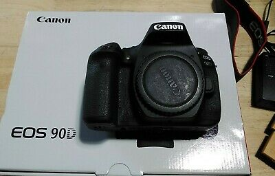 AU1546.20 • Buy Canon EOS 90D 34.4 MP Digital Camera - Black (Body Only)