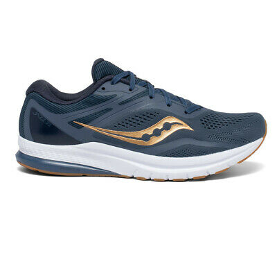 £74.99 • Buy Saucony Mens Jazz 22 Running Shoes Trainers Sneakers Blue Sports Breathable