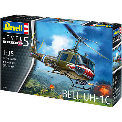 £37.99 • Buy Revell 04960 Huey Bell UH-1C Military Helicopter Plastic Model Kit Scale 1/35