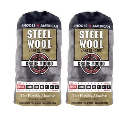 $15.88 • Buy Homax Products #0000 Super Fine Finish Steel Wool Pad 12 Per Package TV713206 2