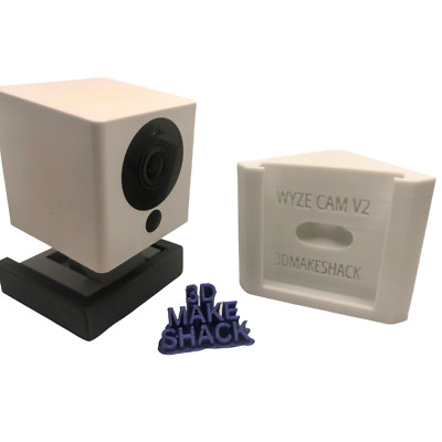 $ CDN9.69 • Buy WYZE Cam V2 Right-Angle Corner Mount Holder Wider Viewing Angle For Security