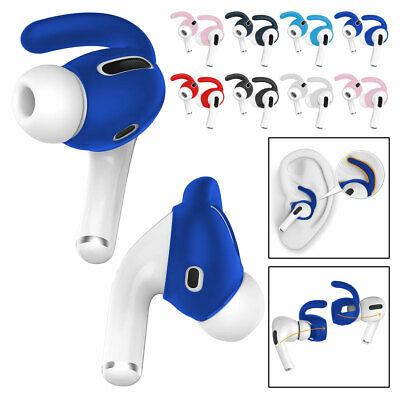 AU10.26 • Buy For Apple AirPods Pro Shockproof Soft Silicone Ear Hook Earbud Protective Case