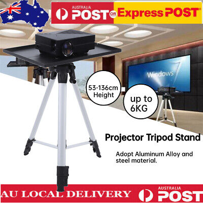 AU42.98 • Buy Laptop Projector Workstation Tripod Stand / Adjustable Height & Tray + Free Bag