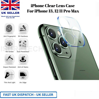 £2.49 • Buy Rear Camera Lens Cover Tempered Glass Protector For IPhone 11 12 Pro 11 Pro Max