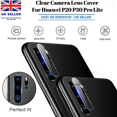 £1.95 • Buy Rear Camera Lens Cover Tempered Glass Protector For Huawei P20 P30 Lite Pro