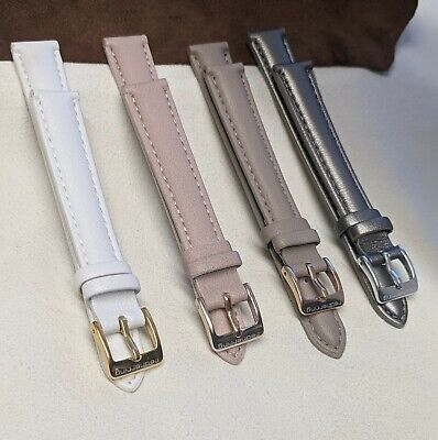 £4.99 • Buy 14mm Red Herring  Padded Faux Leather Replacement Watch /straps  /14mm