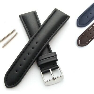 £14.95 • Buy Baden Watch Strap Genuine Leather Padded And Stitched With Spring Bars