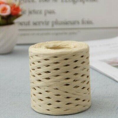 £6.99 • Buy 200m DIY Roll Paper For Cord Crafts Twine Rope String Raffia Scrapbook