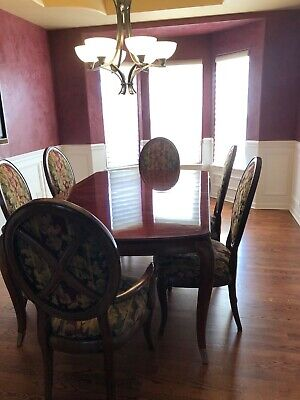 $1900 • Buy Thomasville Bogart Collection Dining Room Set -Mint Condition