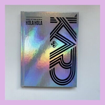 KARD - Hola Hola (1st Mini Album) CD+80p Photobook+ Photocard • 12.50£