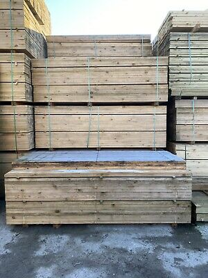 £14.40 • Buy 8Ft Wooden Scaffold Boards/ Planks ~ New
