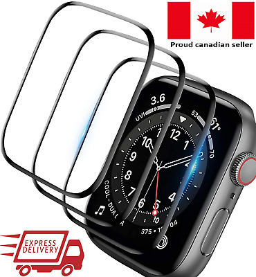 $ CDN5.50 • Buy Apple Watch Tempered Glass  Screen Protector Series 1, 2, 3, 4, 5, 6, SE