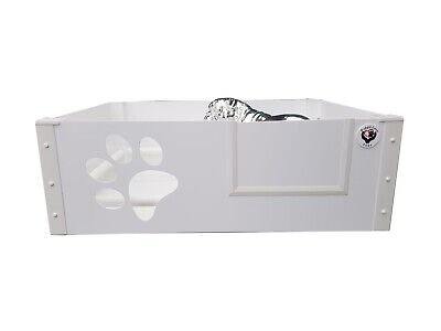 Puppy Dog Whelping Box / Pen With Perspex Paw Window Size Large 120cmx120cmx40cm • 210£