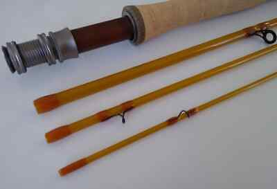 $ CDN217.64 • Buy Margarine Stick -  3wt, 4wt Or 5wt  Fast, Beautiful And Accurate S-Glass 4pc Rod