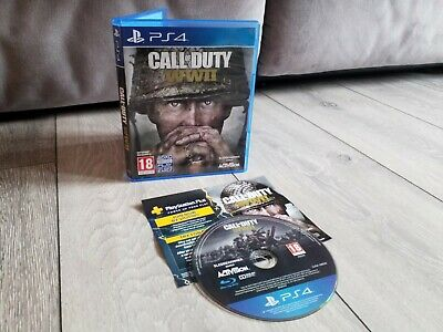 £9.95 • Buy Call Of Duty WWII World War 2 PS4 Playstation 4