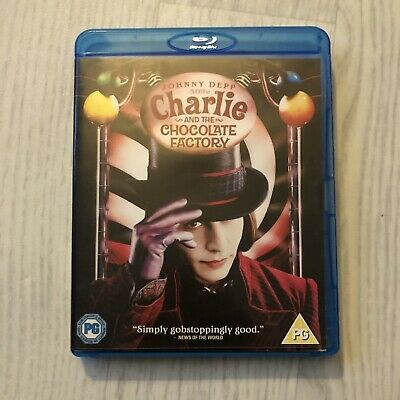 £3.95 • Buy Charlie And The Chocolate Factory (Blu-ray, 2009) Great Condition