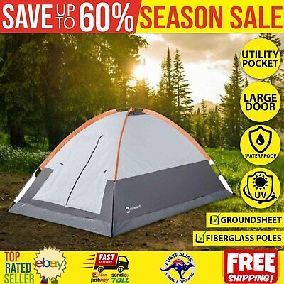AU45.98 • Buy Hinterland Portable Tent 2-Person Camping Gear Dome Tent Waterproof Outdoor Cot