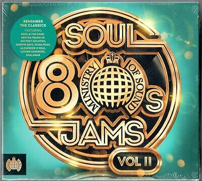 £5.44 • Buy 80s Soul Jams Vol Two NEW 3XCD Ministry Of Sound Kool & The Gang Shalamar ETC