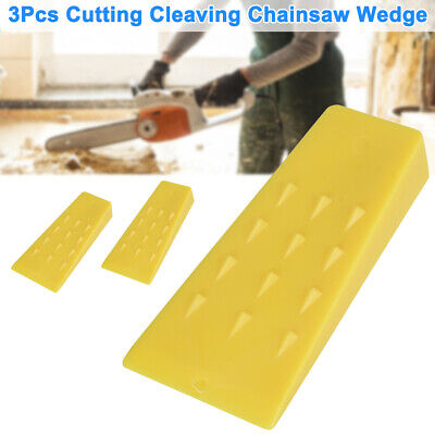 £12.21 • Buy 3PCS 5inch Tree Felling Wedges Logging Cutting Cleaving Chainsaw Wedge Tool UK