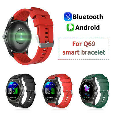 AU13.49 • Buy Q69 Smart Watch IP68 Blood Oxygen Blood Pressure Heart Rate For Android IPhone