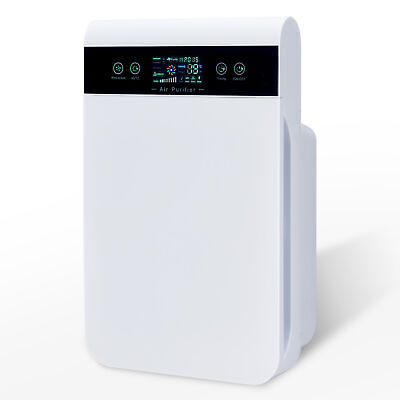 View Details 6in1 HEPA Filter Air Purifier For Home With  UV Light & Remote Control 210 M3/h • 55.98£