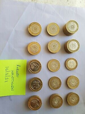 2 Pound Coin Job Lot £2 Coin Collection 75 X Two Pounds Rare  #coinhunt • 200£