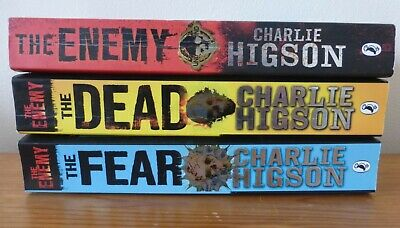 £10 • Buy 3x Charlie Higson The Enemy Books (The Enemy, The Dead, The Fear) - Teen Fiction