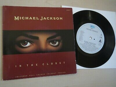 £9.50 • Buy MICHAEL JACKSON - In The Closet - 7  In Poster Bag Sleeve