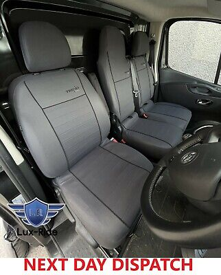 £65.99 • Buy Renault Trafic 2016 2017 2018 2019 2020 2021 Fabric Tailored Front Seat Covers