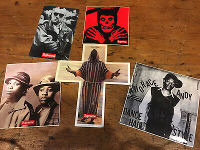 $ CDN62.66 • Buy Supreme Stickers Lot Authentic Misfits
