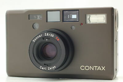 $ CDN2757.03 • Buy [N MINT] CONTAX T3 Titan Black Film Camera Point & Shoot Carl Zeiss From JAPAN