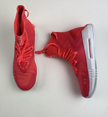 $ CDN68.45 • Buy UNDER ARMOUR Highlight Ace 2.0 Womens Size 10 Red Rage Volleyball Shoes