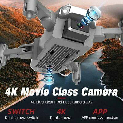 £38.99 • Buy 2021 Drone With 4K HD Dual Camera Wifi FPV Foldable RC Quadcopter 3 Batteries